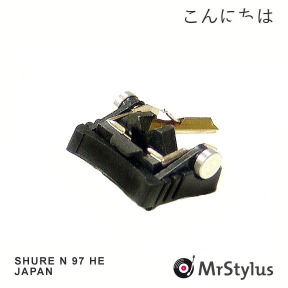 SHURE N97HE JAPAN