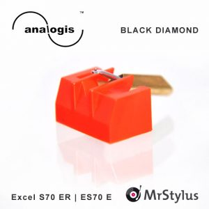 Excel S70ER ES70E analogis BLACK DIAMOND
