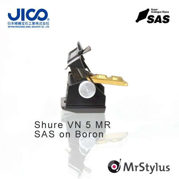JICO Shure VN5MR SAS on Boron
